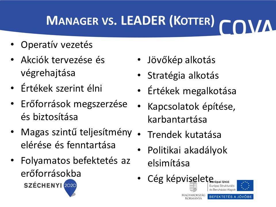 – Az ember képes tanulni – A szervezet, mint önálló rendszer képes tanulni – A vezető képes irányítani a rendszert – A változás biztos – A szervezet önfenntartja status quo-t, ami a szervezeti ellenállás egyik alapja – A szervezeti ellenállásra minden esetben lehet számítani – Bevonás – A rendszer kell változtatni, másodfajú változtatás (Argyris) Kondicionális szint (Mastenbroek) – célok Operatív szint (Mastenbroek) – taktika struktúra A szervezeti kultúra alakítása – attitűd, stb..