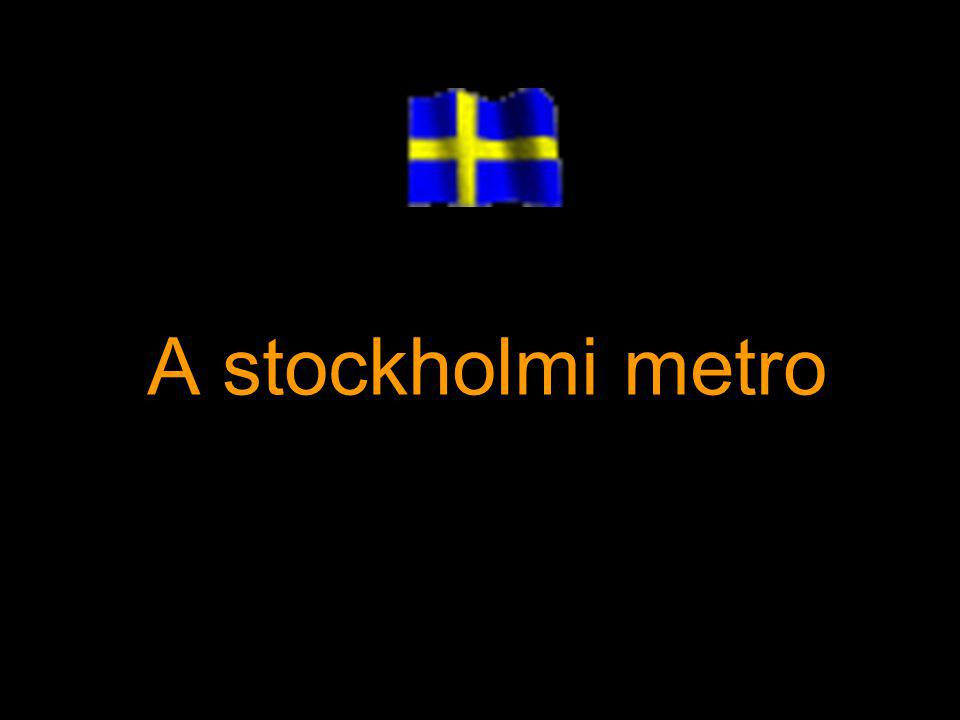 A stockholmi metro