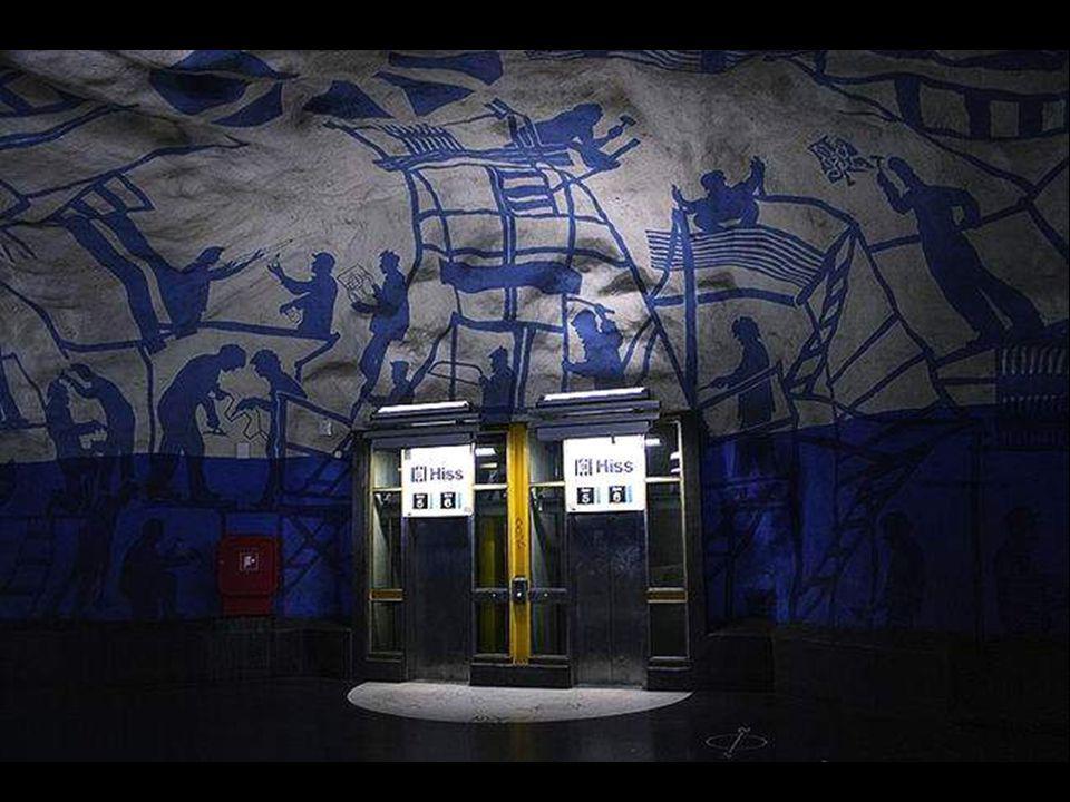 A stockholmi metrót