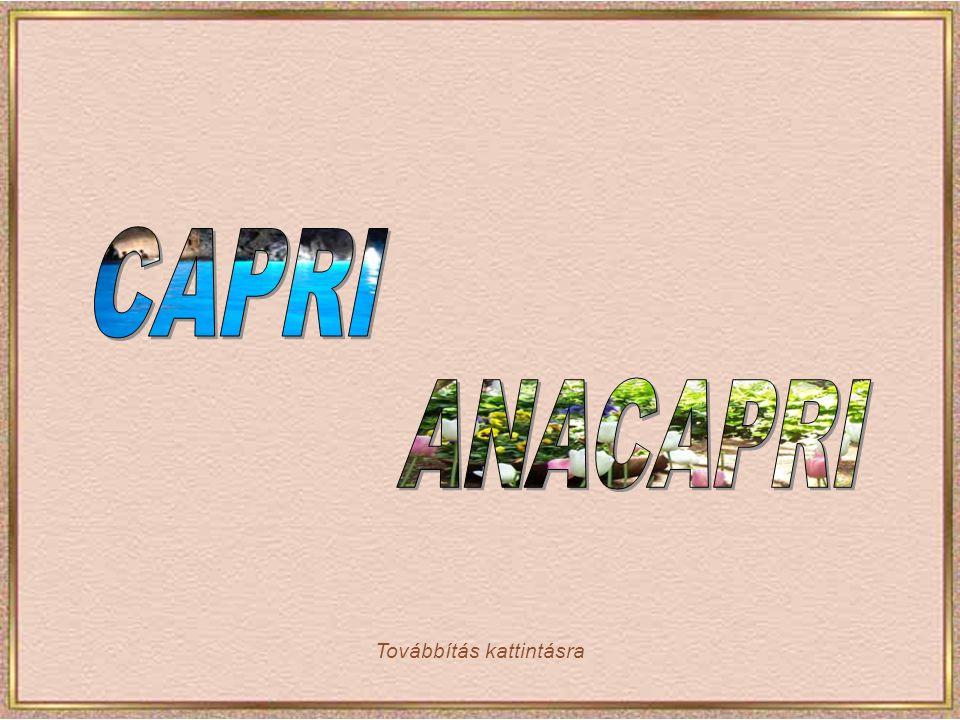 Capri Via Krupp a sziget csúcsáról egészen a tengerpartig kígyózik, több mint egy kilométer hosszan.