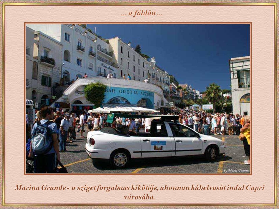 Capri Grand Hotel Quisisana - a legrangosabb luxusszálloda a sziget szívében.