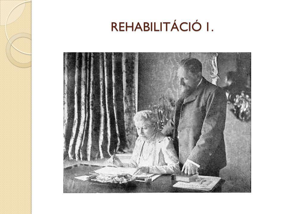 REHABILITÁCIÓ 1.