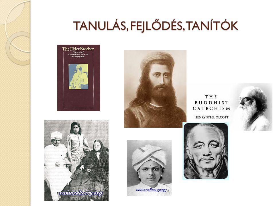 TANULÁS, FEJLŐDÉS, TANÍTÓK