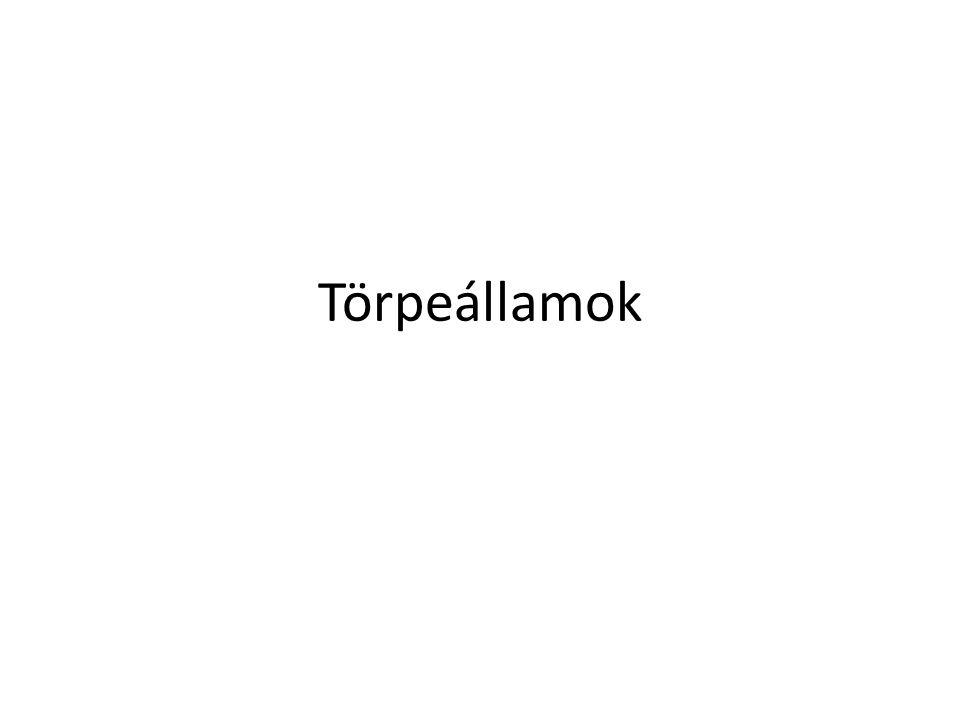 Törpeállamok