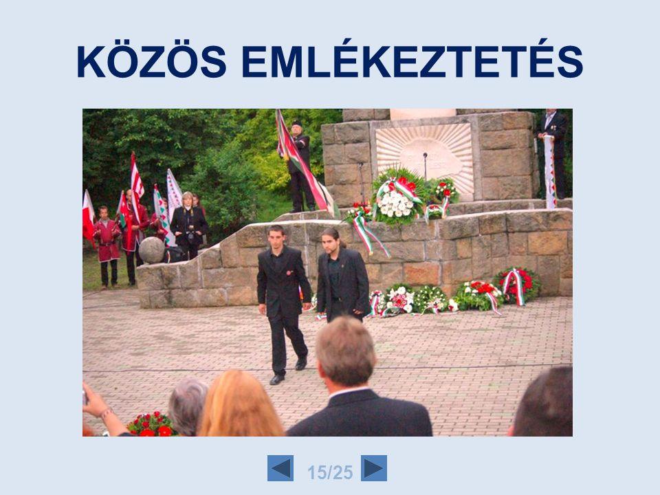 KÖZÖS GONDOLKODÁS 14/25 Együtt gondolkodunk Egymást segítjük Egymással vagyunk jelen eseményeken