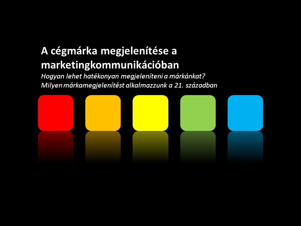 A cégmárka megjelenítése a marketingkommunikációban Hogyan lehet hatékonyan megjeleníteni a márkánkat.