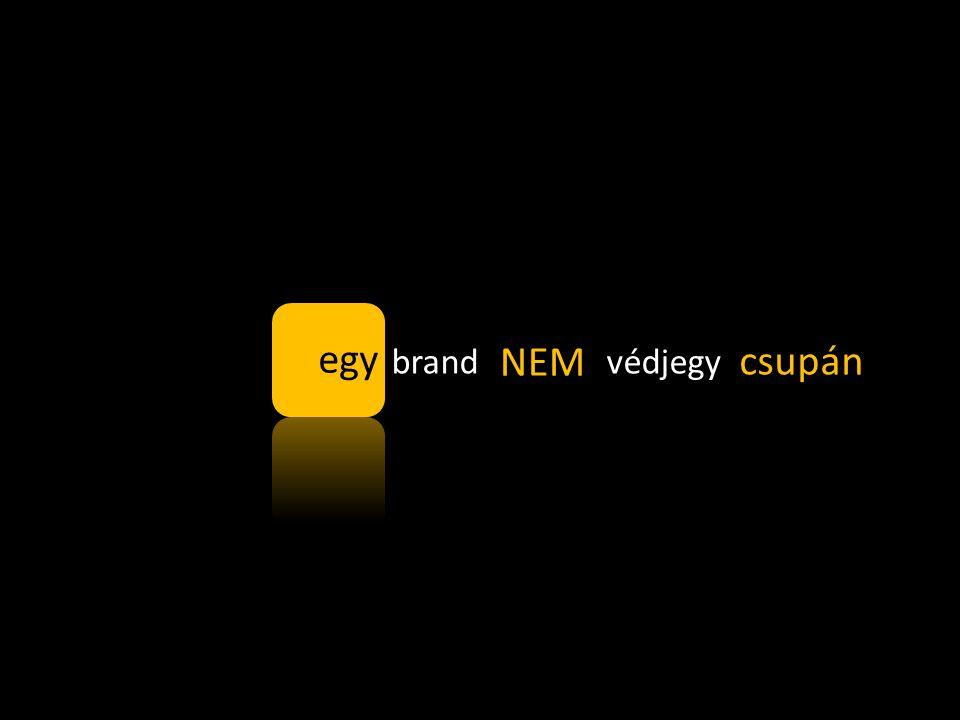 brand = védjegy NEM egy csupán