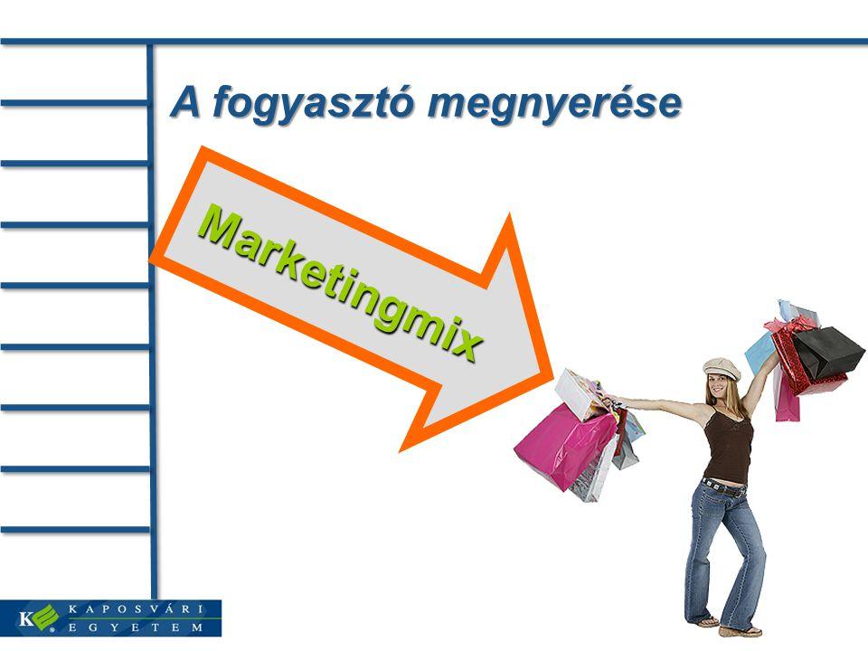 A fogyasztó megnyerése Marketingmix