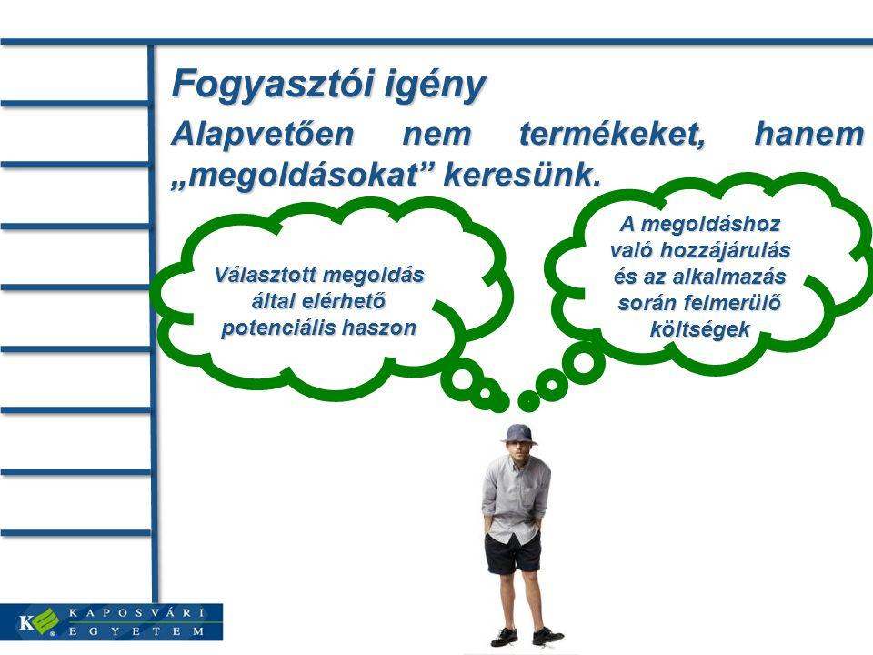 Pozicionálás Pozicionálás: egy termék tulajdonságainak a versengő termékekkel való összehasonlítására épülő meghatározása és kommunikálása.