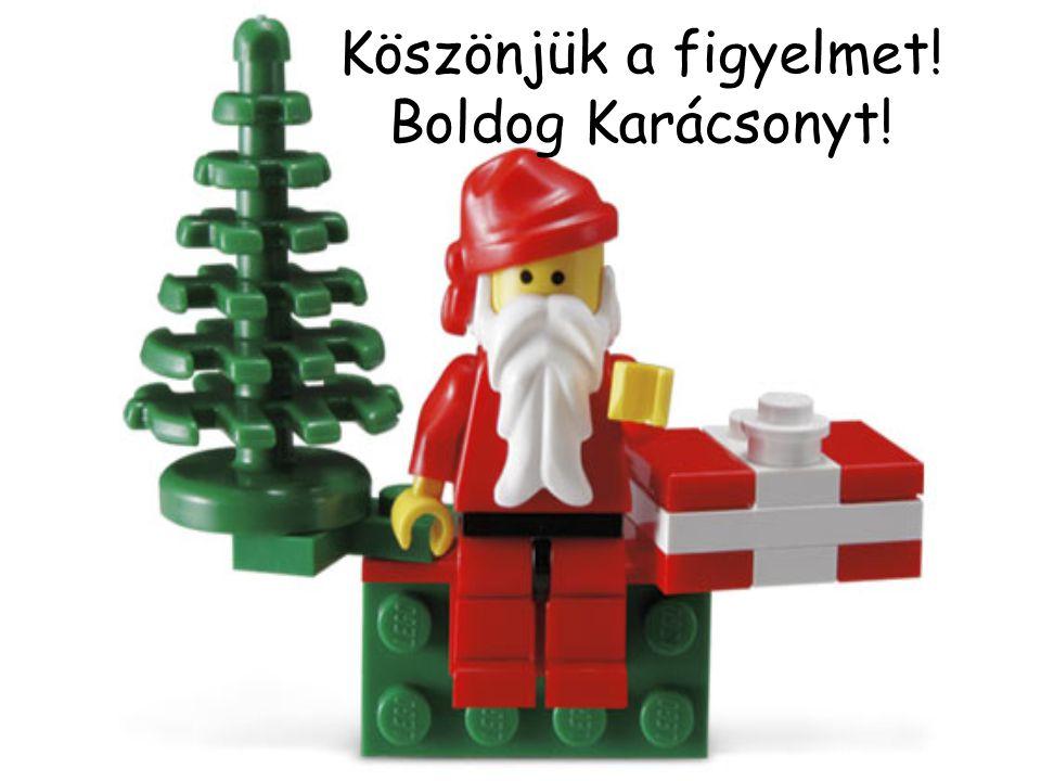 Köszönjük a figyelmet! Boldog Karácsonyt!