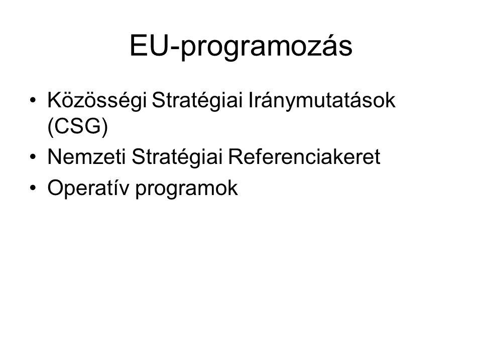 Észak-Magyarország OP Versenyképes helyi gazdaság megteremtése (14,7 mrd Ft) A vállalkozások versenyképességének javítása; új vállalkozások indításának ösztönzése; térségi jelentőségű ipari parkok és logisztikai telephelyek fejlesztése.