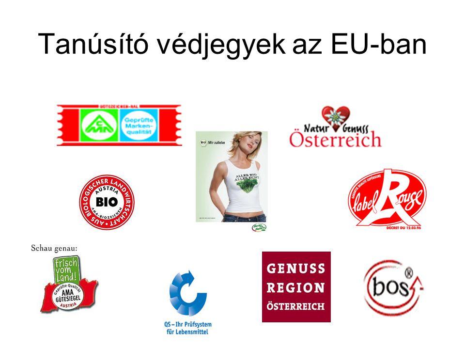 Tanúsító védjegyek az EU-ban
