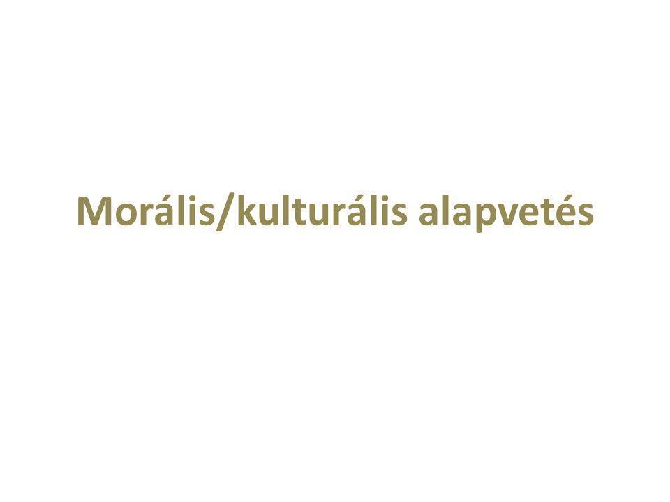Morális/kulturális alapvetés
