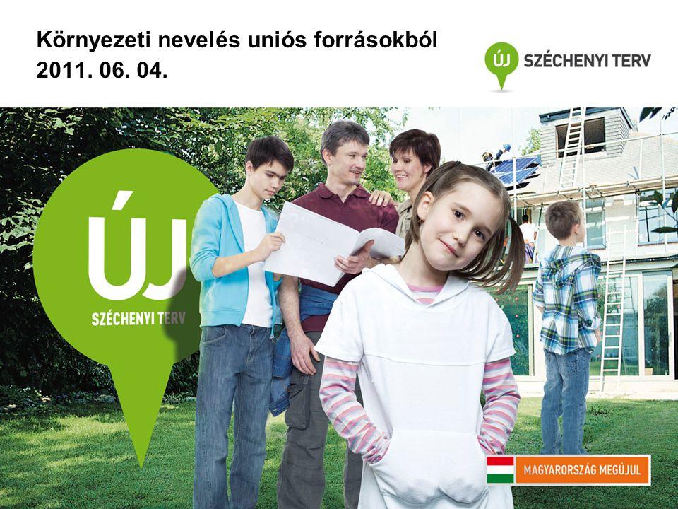 Környezeti nevelés uniós forrásokból 2011. 06. 04.