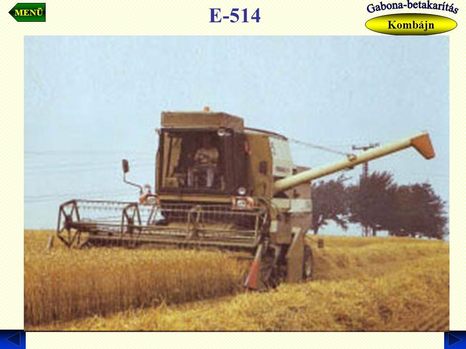 MENÜ Kombájn E-514