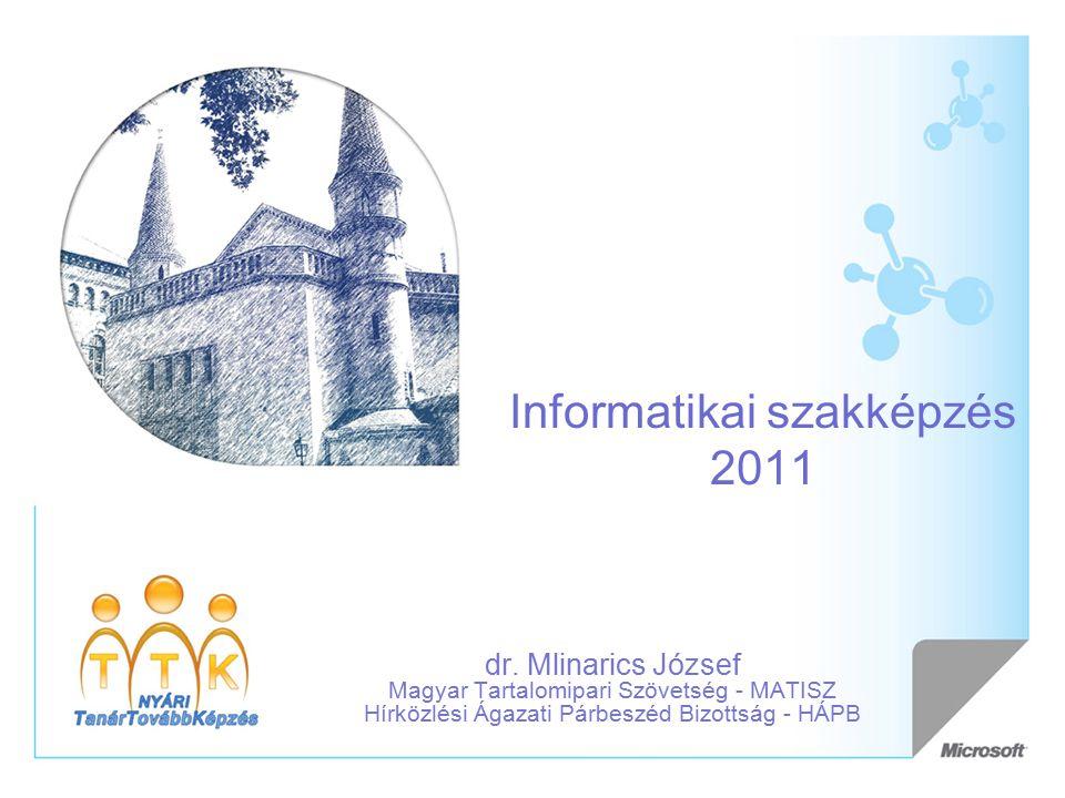 Informatikai szakképzés 2011 dr.
