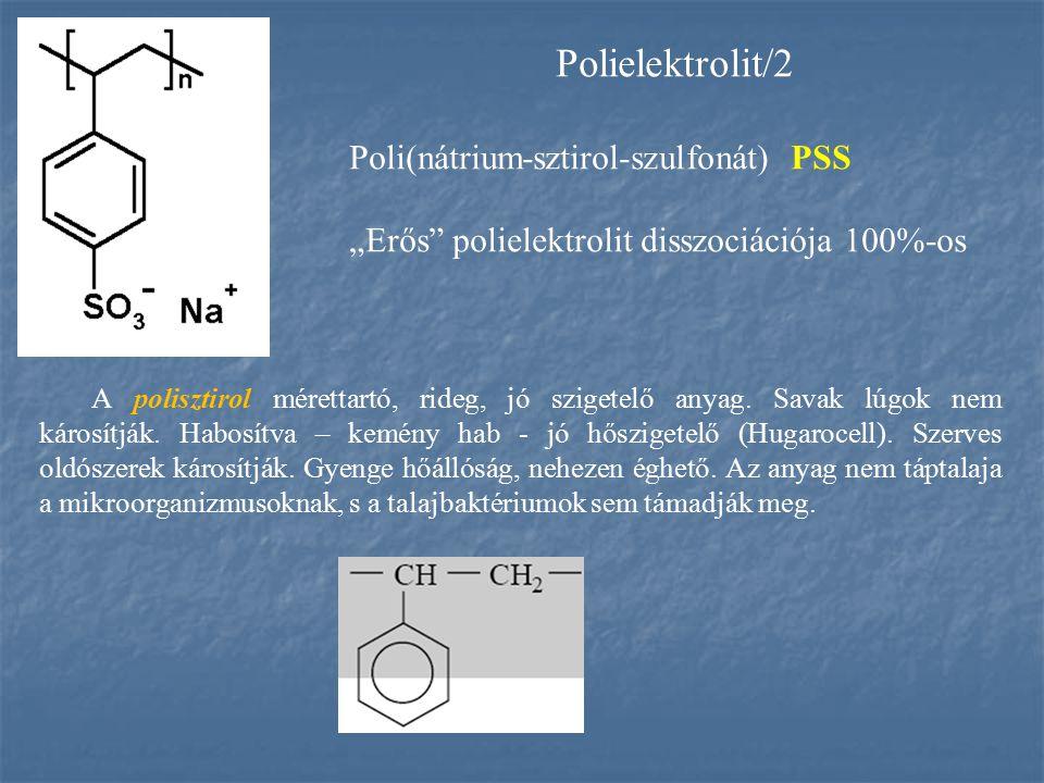 A polisztirol mérettartó, rideg, jó szigetelő anyag. Savak lúgok nem károsítják. Habosítva – kemény hab - jó hőszigetelő (Hugarocell). Szerves oldósze