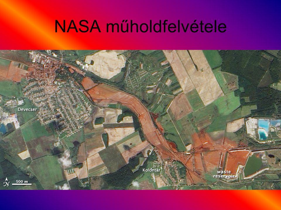 NASA műholdfelvétele
