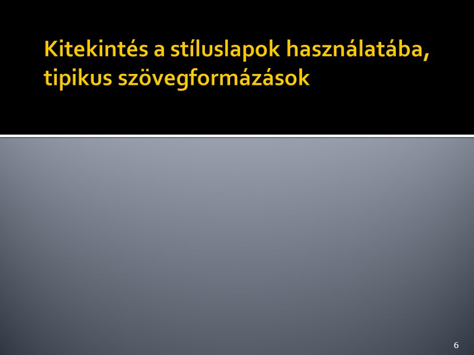  A feladat szövege: http://sharetext.org/VjU5 http://sharetext.org/VjU5 7 balra középre jobbra sorkizárt