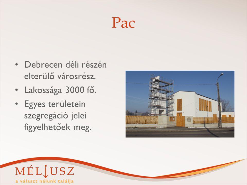 Pac Debrecen déli részén elterülő városrész. Lakossága 3000 fő. Egyes területein szegregáció jelei figyelhetőek meg.