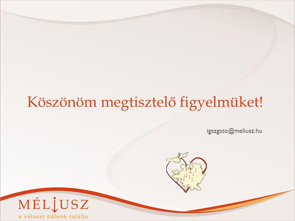 Köszönöm megtisztelő figyelmüket! igazgato@meliusz.hu