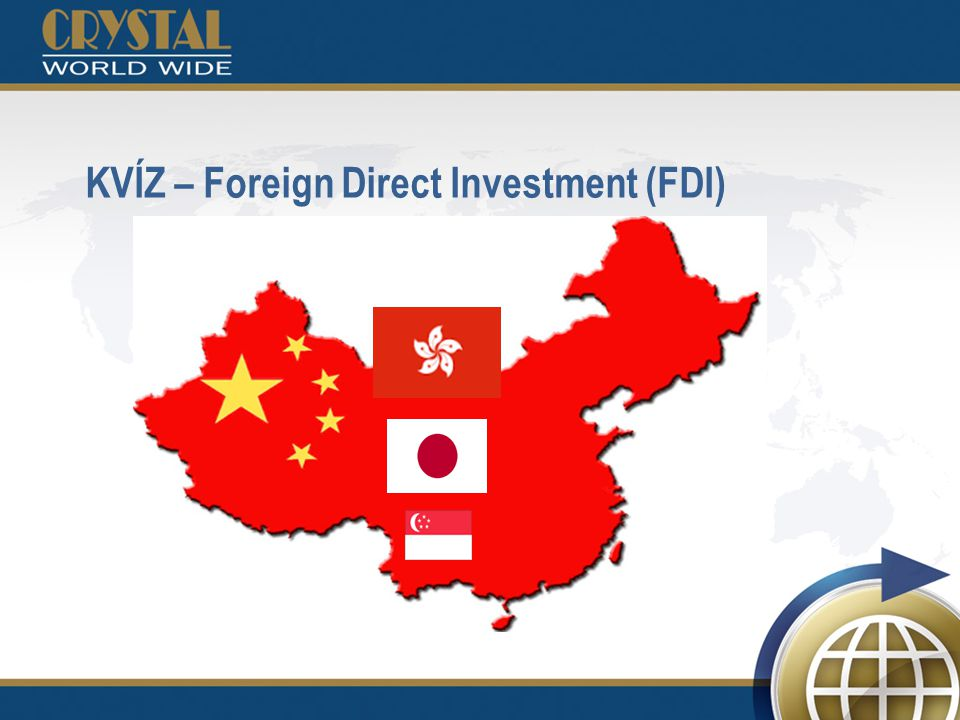 KVÍZ – Foreign Direct Investment (FDI)