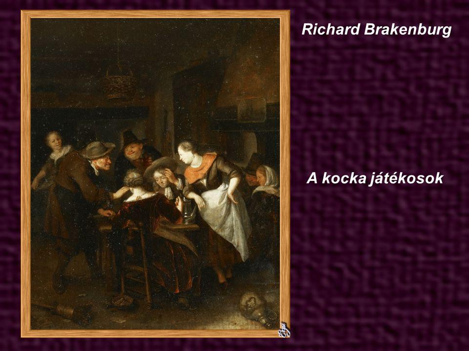 Quirijn Gerritsz van Brekelenkam A gyapjú fonó és felesége