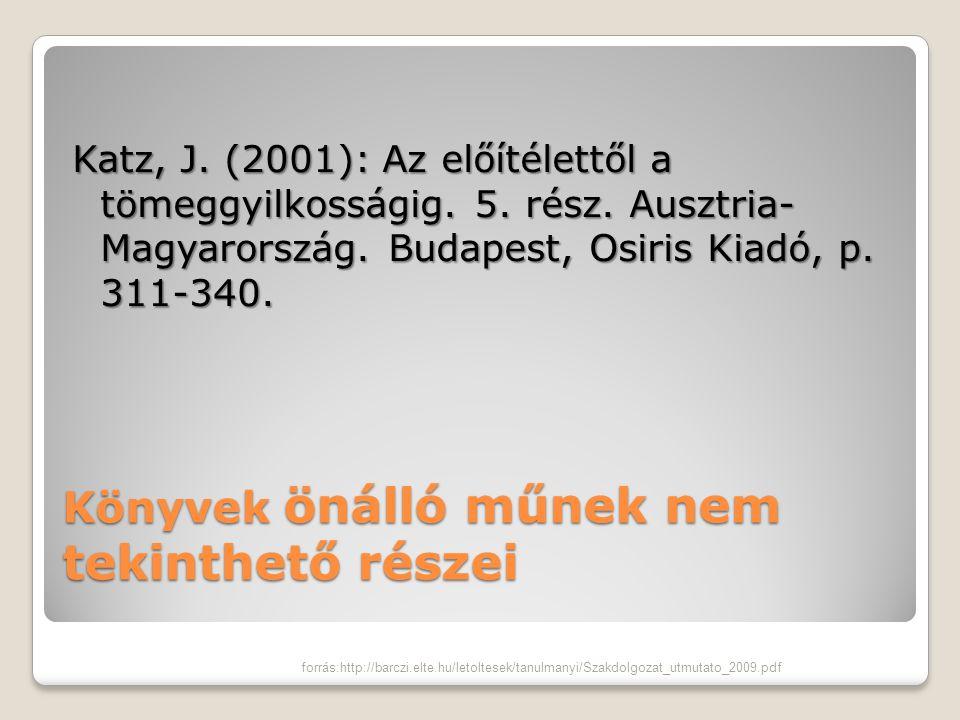 Tanulmány egy adott könyvben Farkas Miklós – Perlusz Andrea (2000): A hallássérült gyermekek óvodai és iskolai nevelése és oktatása.
