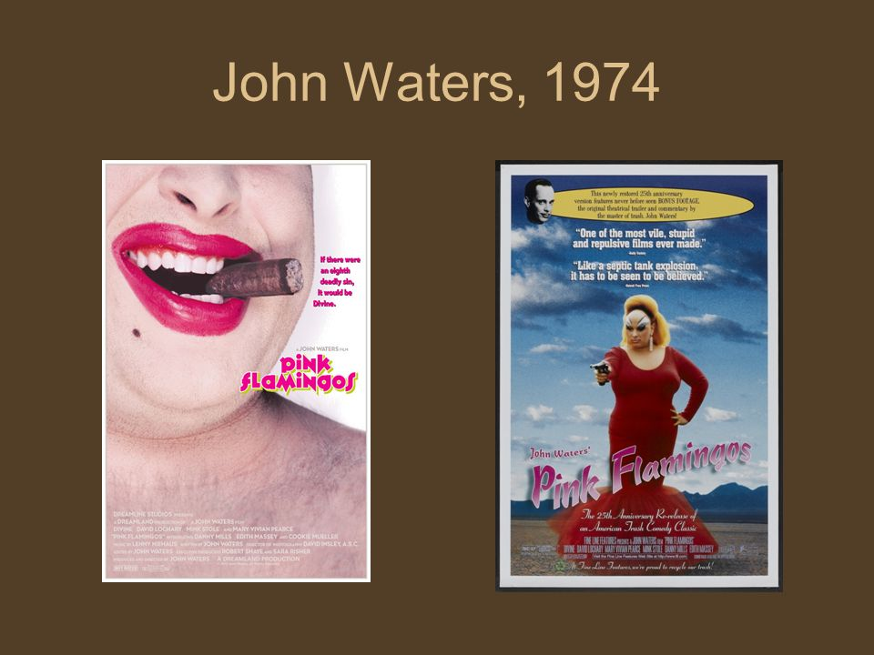 John Waters, 1974