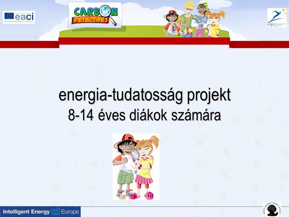 Célkitűzések a gyerekek tanáraik segítségével  szerezzenek ismereteket az energia témakörben,  nyomozzák ki, hogy az iskolai életük során milyen területeken és milyen mértékben keletkezik szén-dioxid,  gyűjtsenek ötleteket, miként lehet a felesleges szén-dioxid kibocsátást csökkenteni és készítsenek akciótervet!