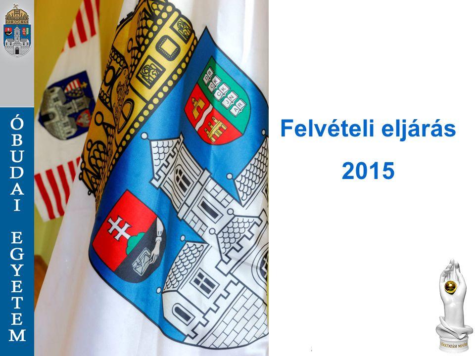 Felvételi tájékoztató megjelenése  2014.