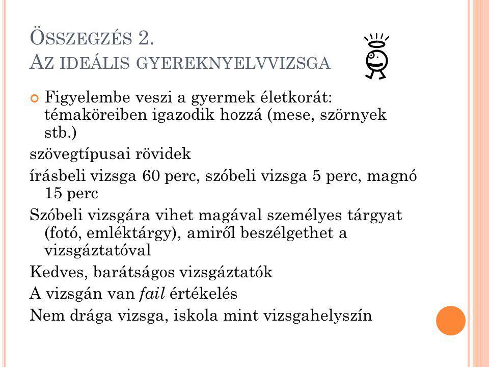 Ö SSZEGZÉS 2.