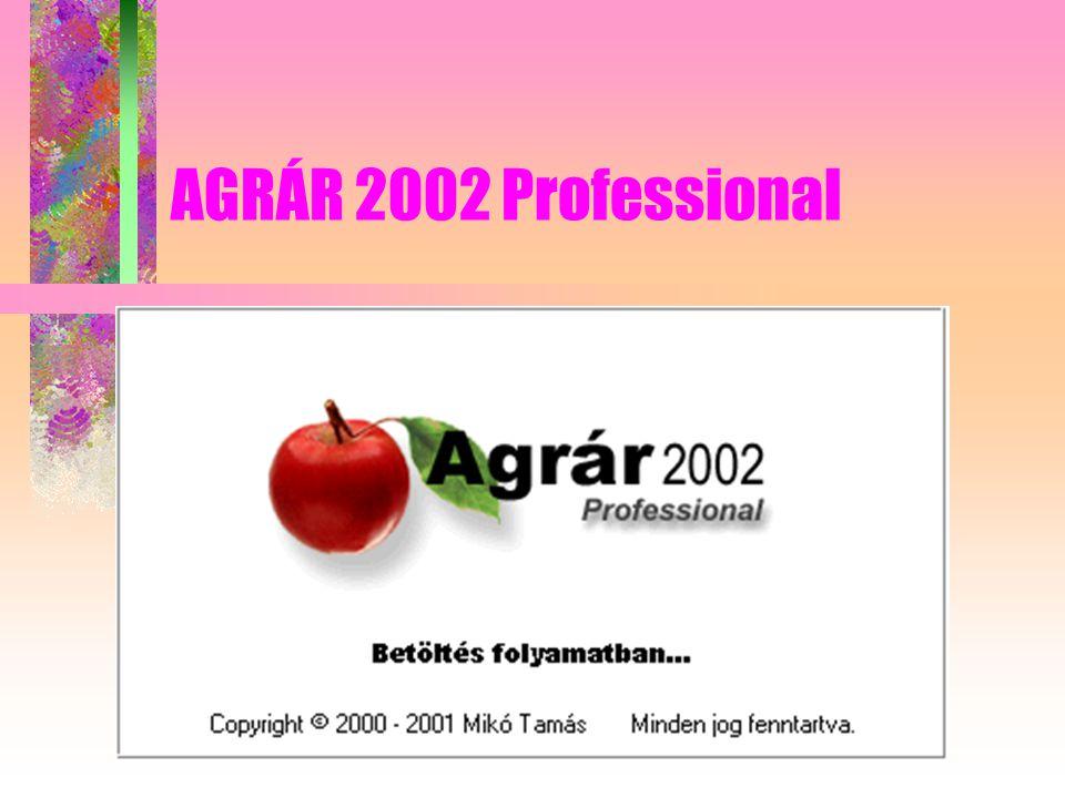 AGRÁR 2002 Professional