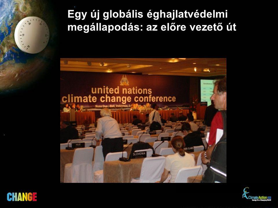 Egy új globális éghajlatvédelmi megállapodás: az előre vezető út