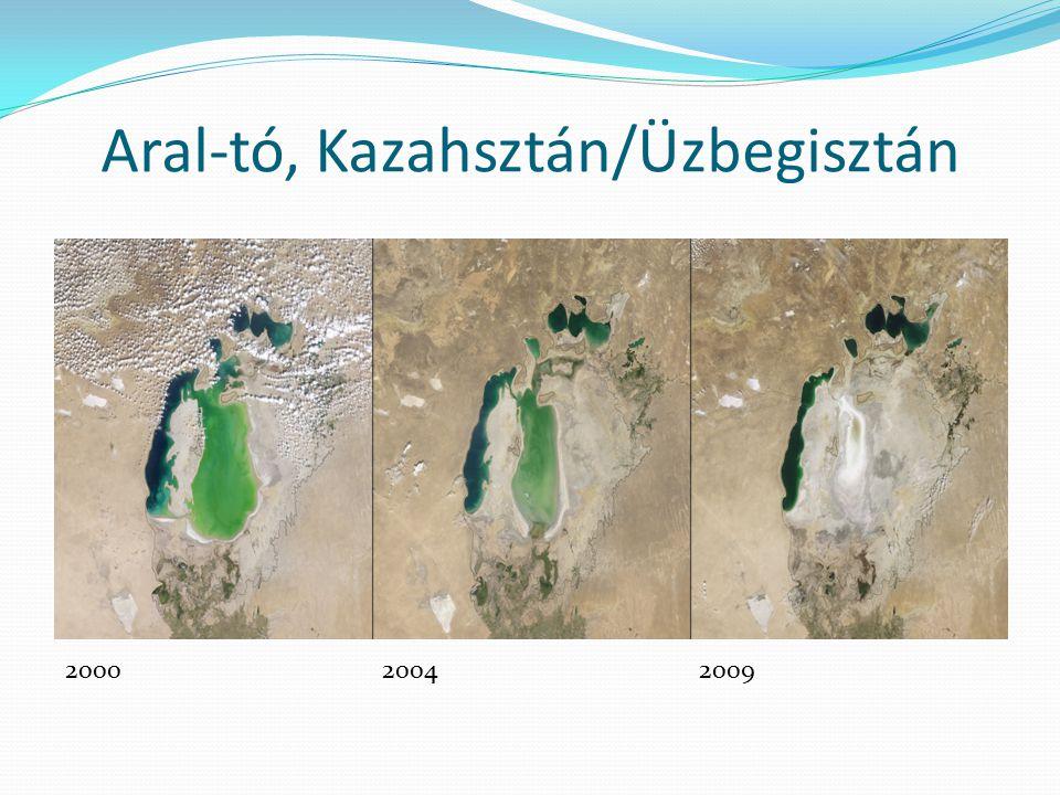 Aral-tó, Kazahsztán/Üzbegisztán 200020042009