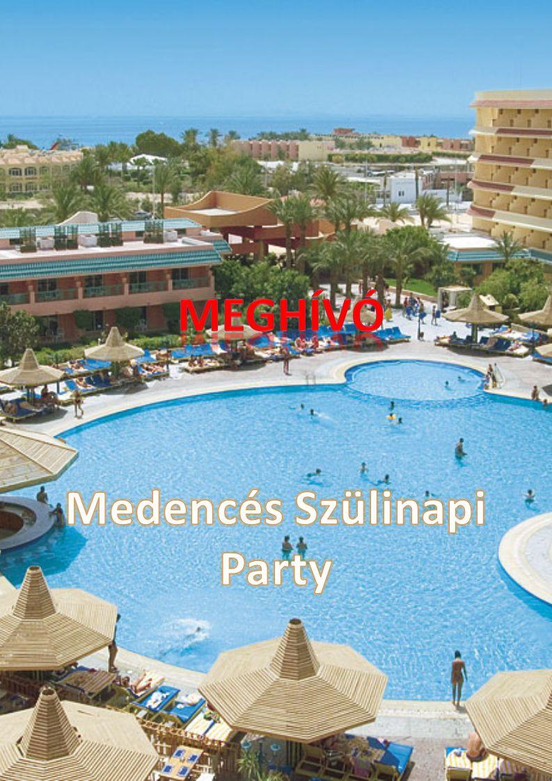 Egy jó Party-ra vágysz.Gyere el a Szülinapi Bulimra a Szigetszentmiklósi Aquaparkba.