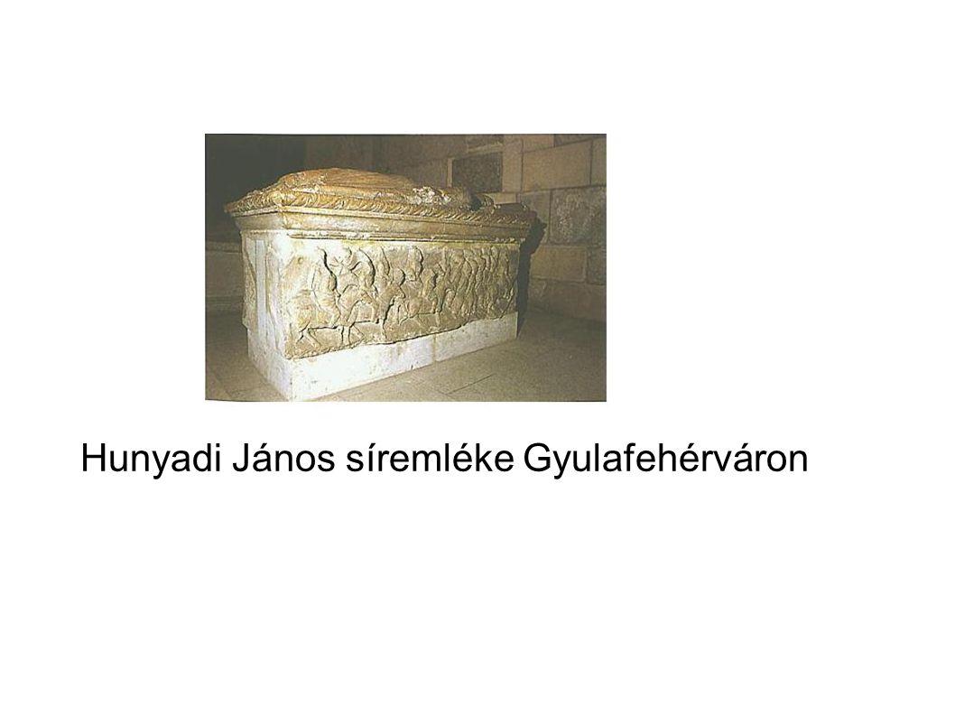 Hunyadi János síremléke Gyulafehérváron