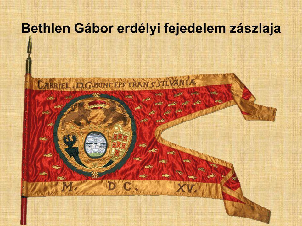 Bethlen Gábor erdélyi fejedelem zászlaja