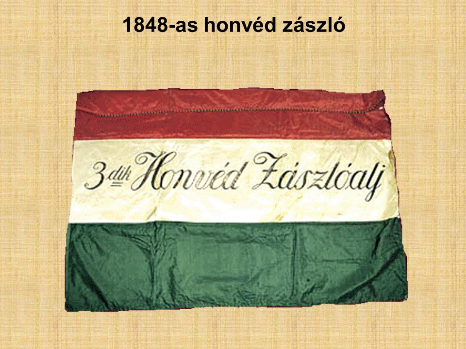 1848-as honvéd zászló