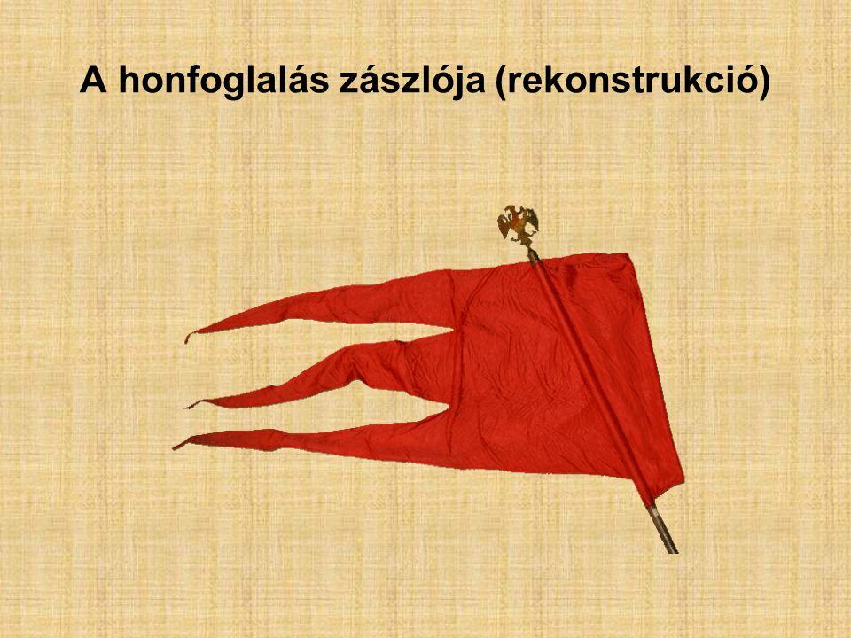 A honfoglalás zászlója (rekonstrukció)