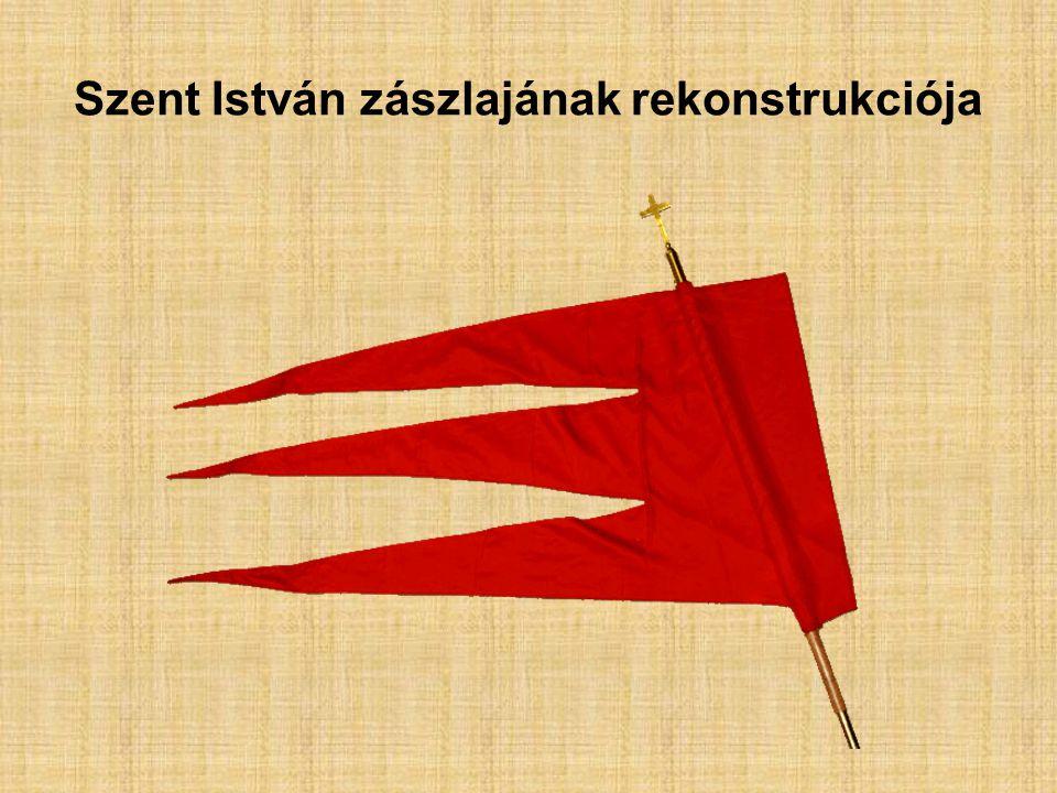 Szent István zászlajának rekonstrukciója