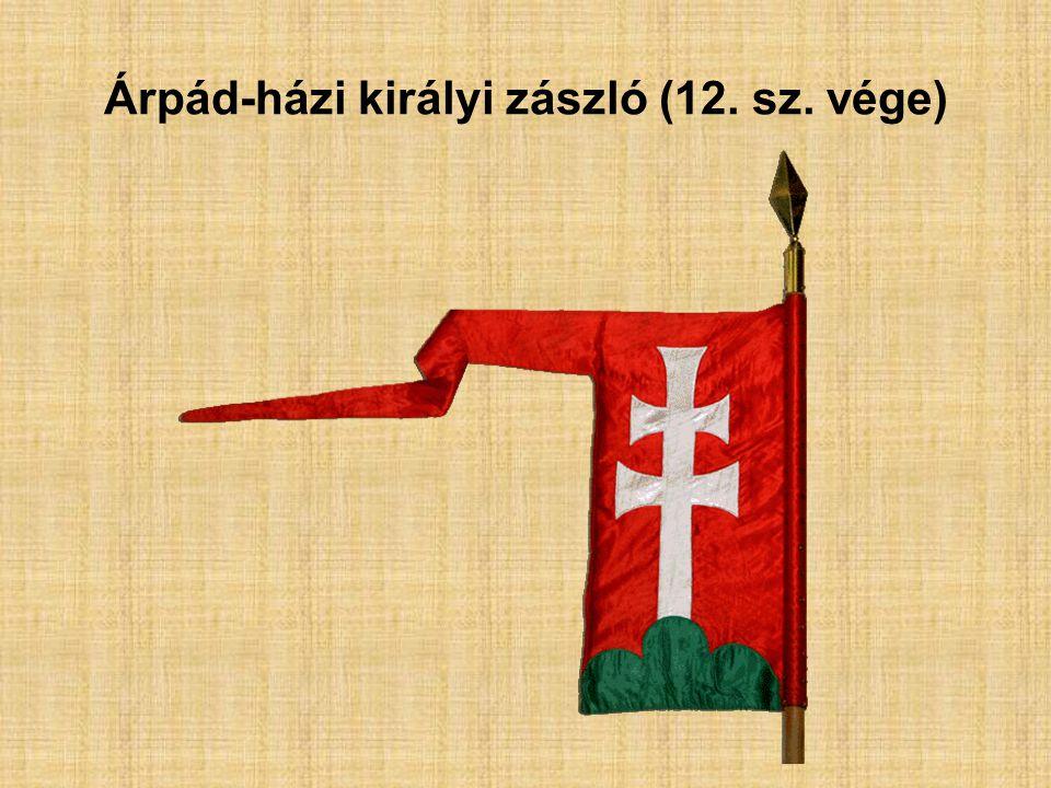 Árpád-házi királyi zászló (12. sz. vége)