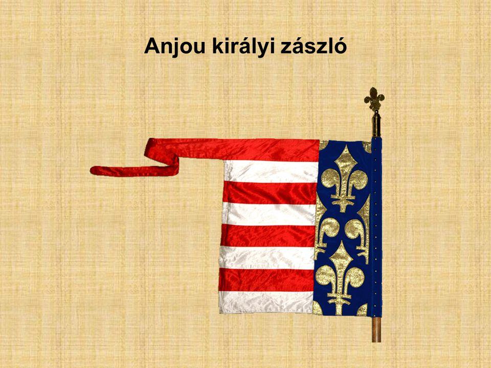 Anjou királyi zászló