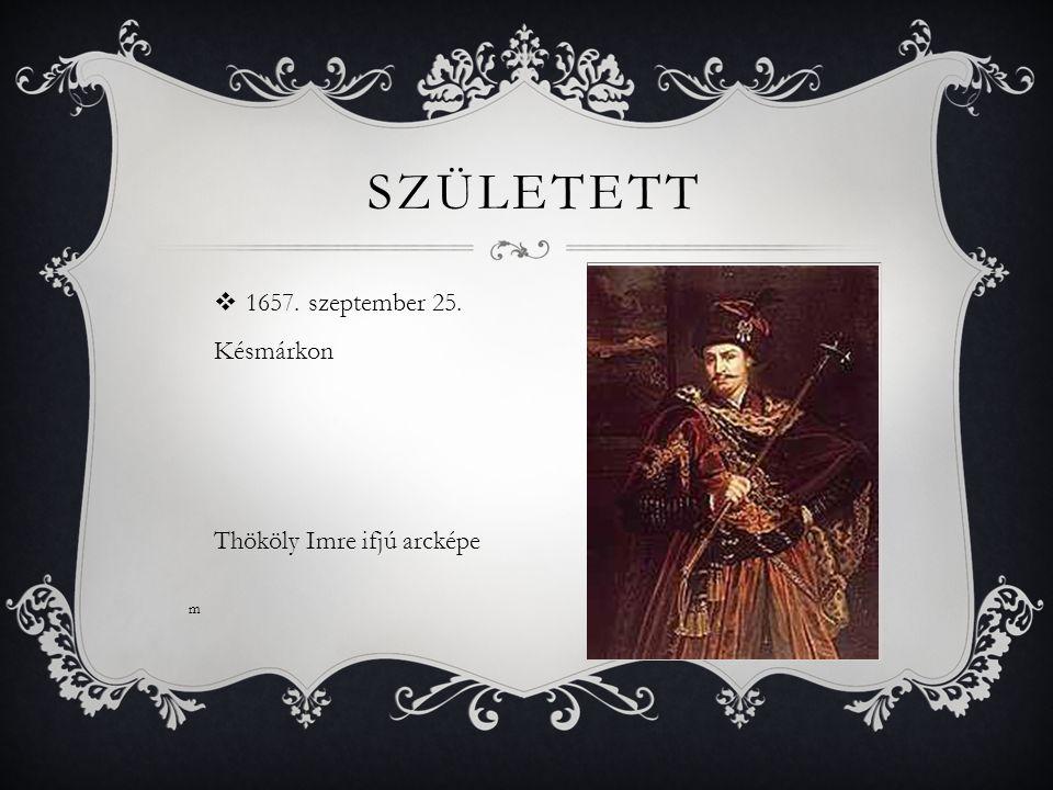 SÍREMLÉKE  1705.szeptember 13.