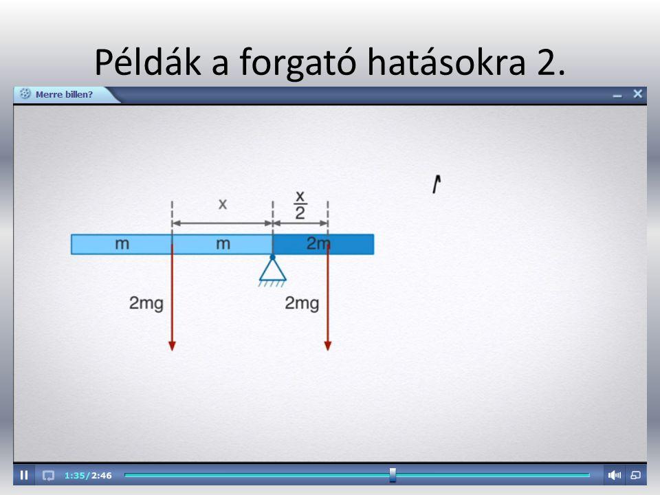 Példák a forgató hatásokra 2.