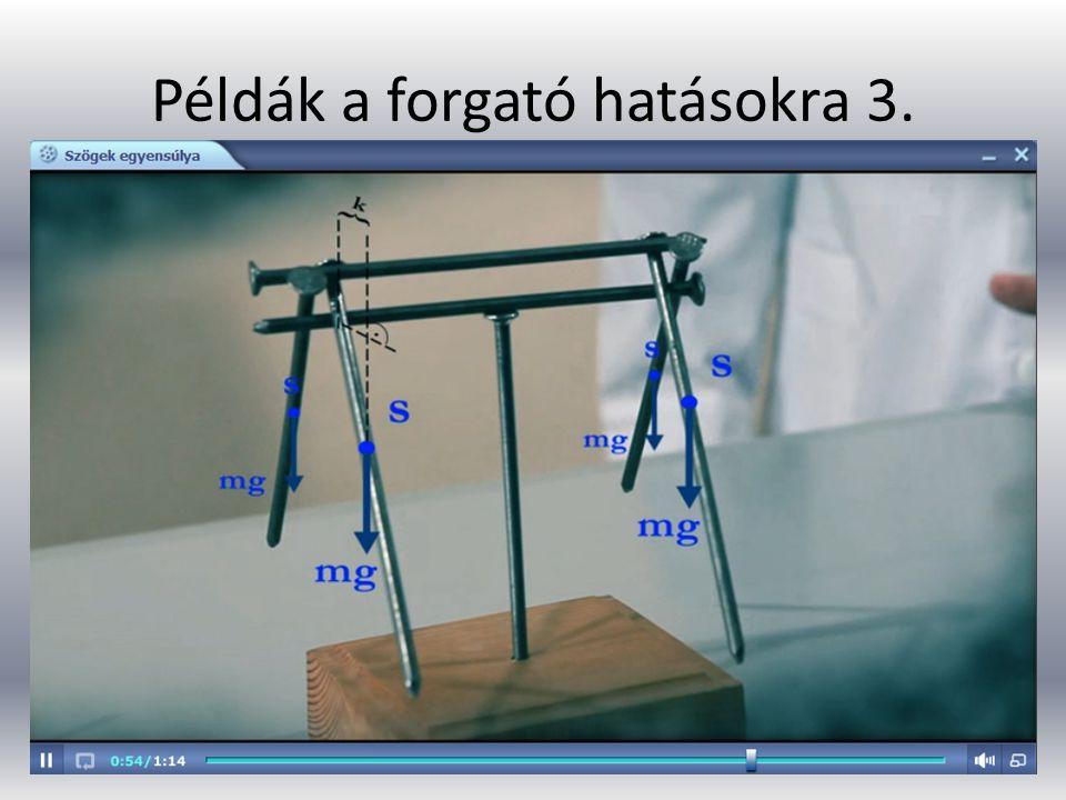 Példák a forgató hatásokra 4.