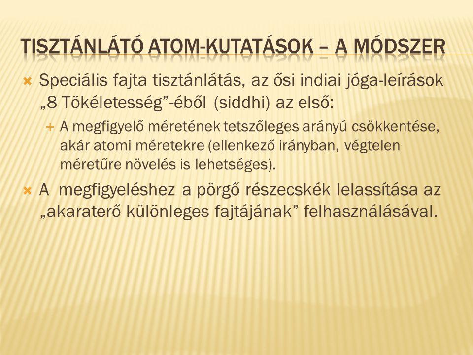  Különböző kémiai atomok egyesülései, amik  Többnyire főbb (4.