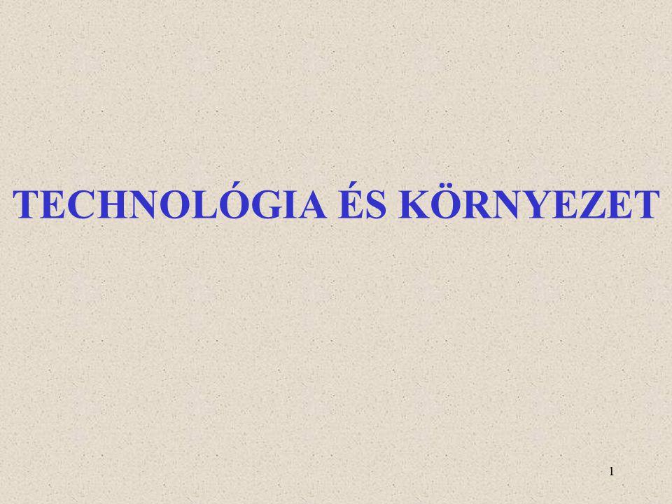 1 TECHNOLÓGIA ÉS KÖRNYEZET