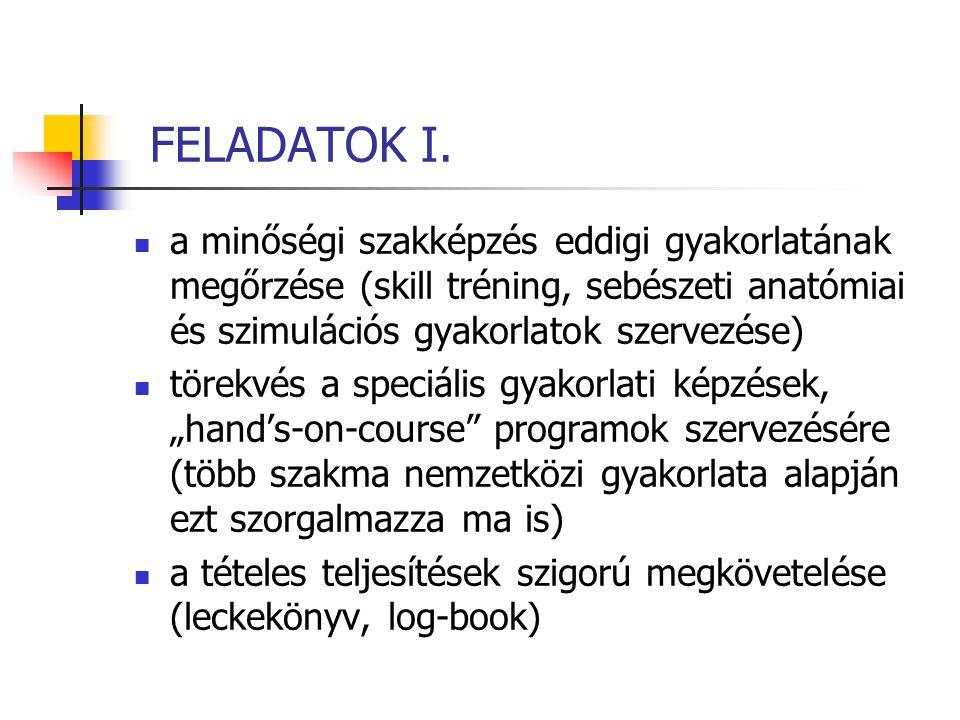 FELADATOK I.