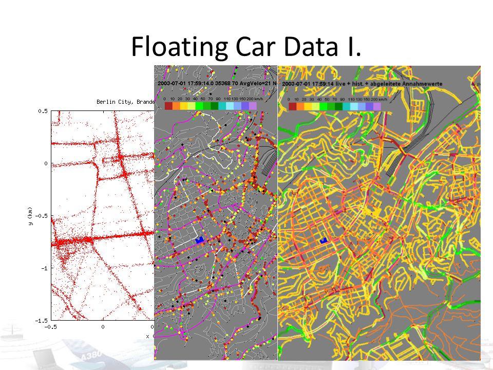 Floating Car Data I.
